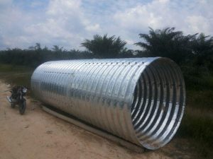 Type Multiplate Pipe